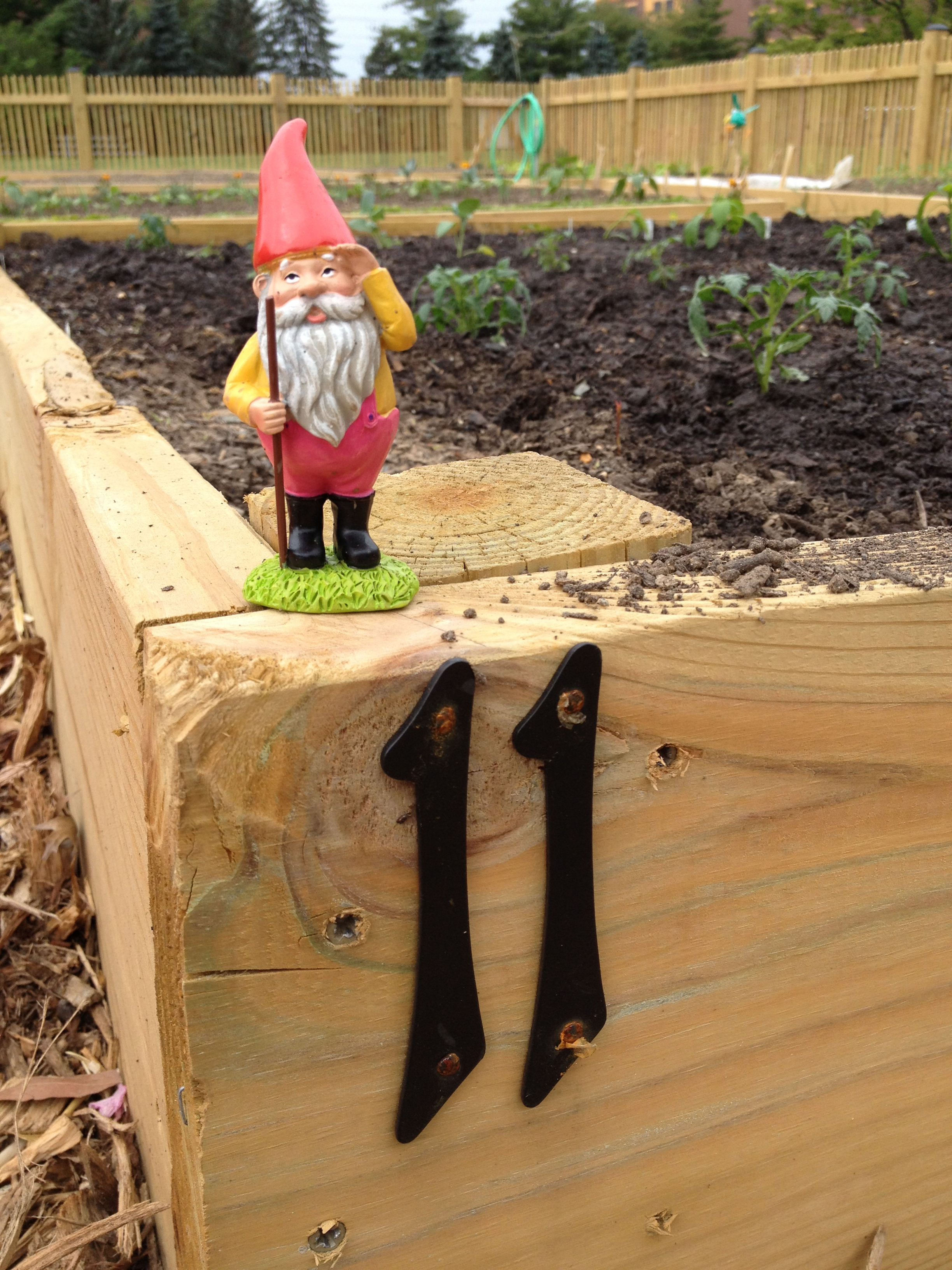 Herb the Garden Guarding Gnome